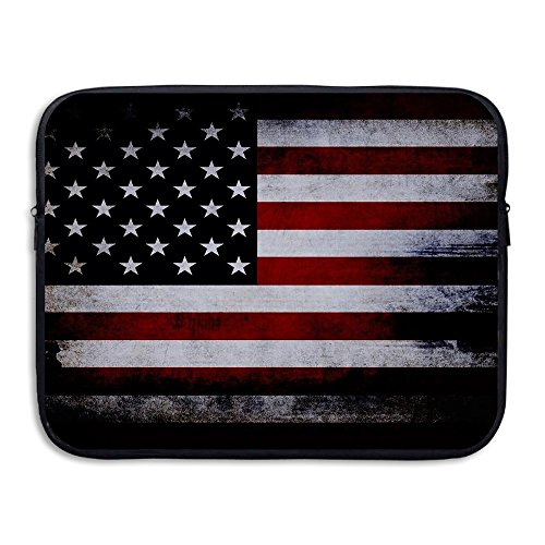 Business Briefcase Sleeve American Flag Pattern Laptop Sleeve Case Cover Handbag For 15 Inch Macbook Pro / Macbook Air / Asus / Dell / Lenovo / Hp / Samsung / Sony