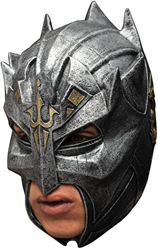 UHC Men's Medieval Dragon Warrior Knights Latex Mask Halloween Costume Accessory