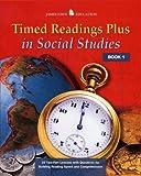 Timed Readings Plus in Social Studies Book 10, McGraw-Hill - Jamestown Education, Glencoe/ McGraw-Hill - Jamestown Education, 0078458080