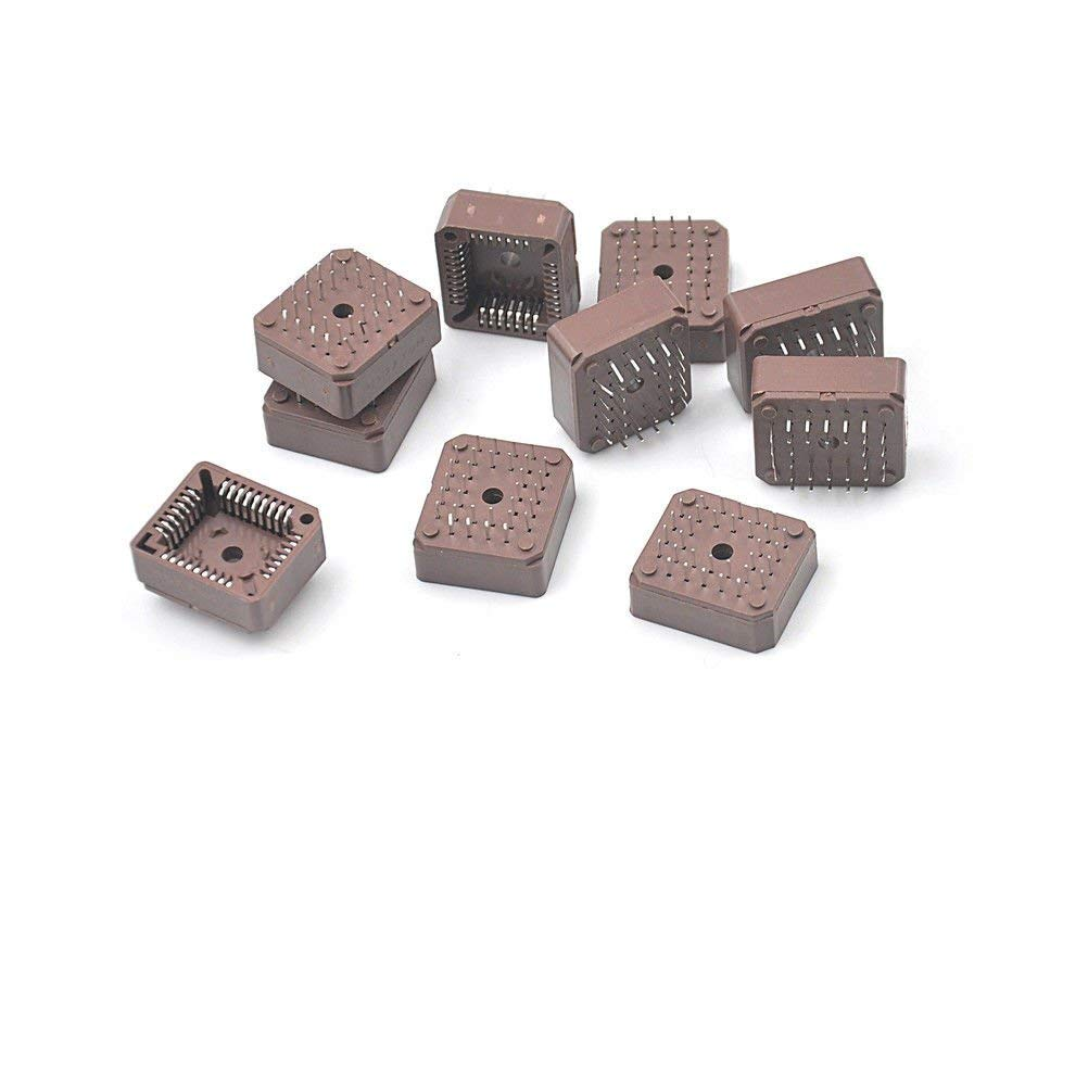 BloomGrün Co. 10pcs PLCC32 32 Pin 32pin Dip IC-Buchse Adapter PLCC Converter HICA