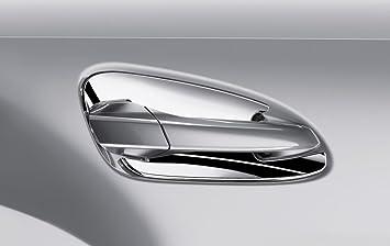 Mercedes-Benz Genuine OEM Chrome Door Handle Recess Covers 2016-2017 GLE-Class & Amazon.com: Mercedes-Benz Genuine OEM Chrome Door Handle Recess ...