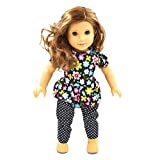 Handmade fashion clothes dress for 18 inch American girl doll party