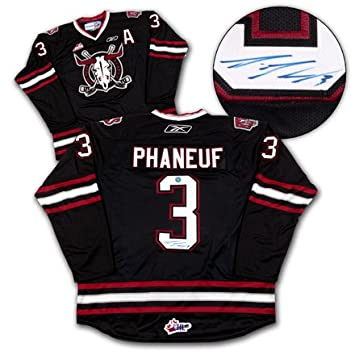 Dion Phaneuf Signed Red Deer Rebels WHL Jersey  Amazon.ca  Sports   Outdoors b2435c3c194