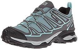 Salomon Women's X Ultra Prime Cs Waterproof W Hiking-shoes, Artic, 8.5 M Us