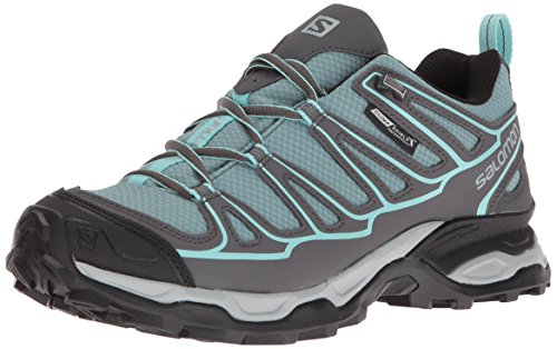 Salomon Women's X Ultra Prime CS Waterproof W Hiking-Shoes, Artic, 9 M US by Salomon