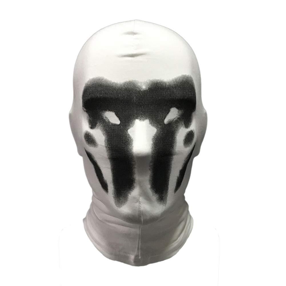 Teekit Watchman Headgear Masque de Cosplay imprim/é num/érique en Coton Style 2 Small