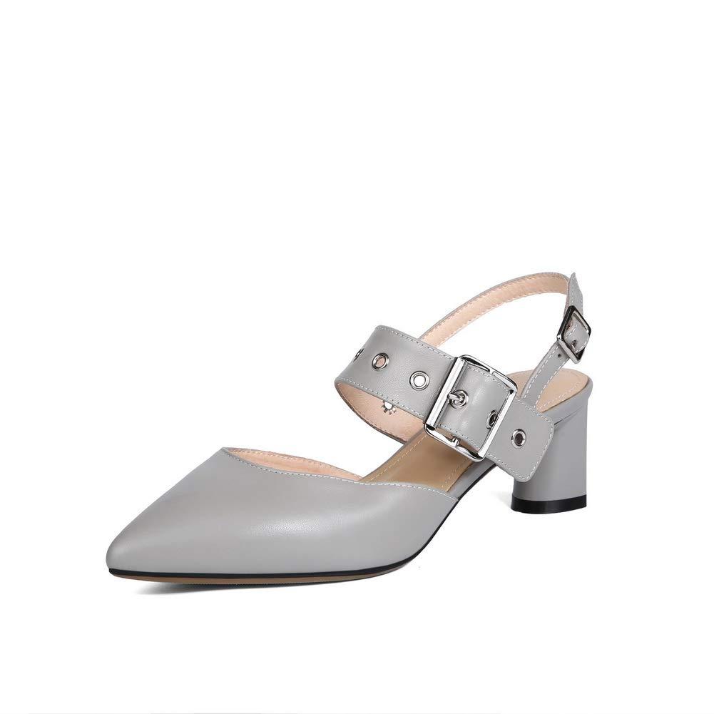 Aimint ERR00151, Damen Durchgängies Plateau Sandalen mit Keilabsatz, Silber - Silber - Größe  EU 36