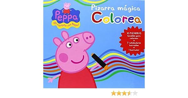 Peppa Pig. Pizarra Mágica Colorea: Amazon.es: Vv.Aa.: Libros