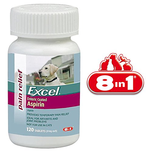 Aspirin for Dogs Arthritis Joint Pain Reliever with Anti Inflammatory Properties from Excel 120 Tablets