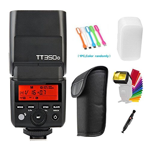 Godox TT350-O TTL GN36 High Speed Sync 1/8000s 2.4G Speedlite Flash Compatible Olympus E-M10II,E-M5II,E-M1,E-PL8,E-PL7,E-PL6,PL5,E-P5,E-P3,Pen-F,Panasonic DMC-GX85,DMC-G7,DMC-GF1,DMC-LX100,DMC-G85
