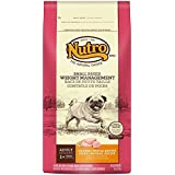 Nutro Small Breed Weight Management Dry Dog Food, Chicken,Brown Rice and Oatmeal, 8 lbs.