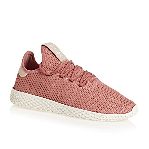 Adidas Pharrell Williams Tennis Hu Vrouwen Sneakers Roze Roze / Ivoor / Wit