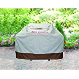 BBQ Coverpro Waterproof Heavy Duty BBQ Grill Cover (58x24x46)(m) Beige And Brown For Weber, Holland, Jenn Air, Brinkmann and Char Broil & More.