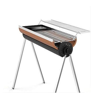 BBQER-A acero inoxidable más grueso Portable fácil monta barbacoa al aire libre parrilla del