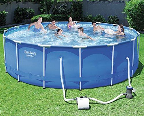 Bestway 58216 - Clorador Salino Bestway Flowclear Chlorinator para piscinas, para piscinas de hasta 45.240 litros - Sustituye al cloro químico: Amazon.es: ...