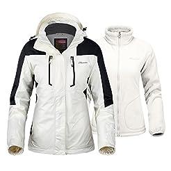 OutdoorMaster Women's 3-in-1 Ski Jacket ...