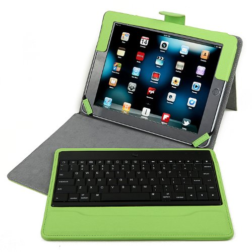 HDE Keyboard Wireless Bluetooth Leather product image