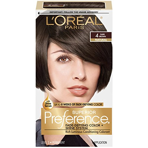 Pref Haircol 4 Size 1ct L'Oreal Preference Hair Color Dark B