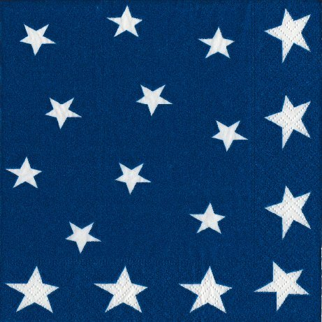 4th of July Party Supplies Paper Napkins Luncheon Size flag Stars and Stripes 40 Count 6.5