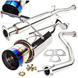 97 civic exhaust system - JDM 2.5 inch to 3 inch Performance Catback Exhaust System with 4.5 inch Burnt Style Tip For Honda Civic 2/4 Door Models