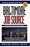 Baltimore Job Source, Mary McMahon and Parker Webb, 0963565141