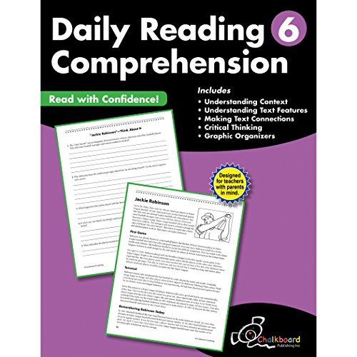 Daily Reading Comprehension Grade 6 (Chalkboard Books)