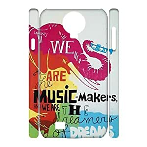 Dream on dreamer Personalized 3D Case for SamSung Galaxy S4 I9500, 3D Customized Dream on dreamer Case