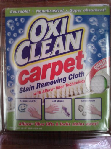 Oxi Clean Carpet Stain Removing Cloth
