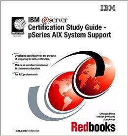 amazon ibm e logo server certification study guide pseries aix