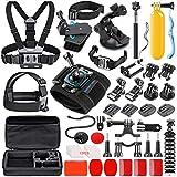 SmilePowo Sports Action Camera Accessory Kit for GoPro Hero 7,6,5 Black,...