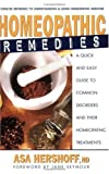 Homeopathic Remedies, Asa Hershoff, 089529950X