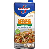 Swanson Unsalted Chicken Broth, 32 oz.