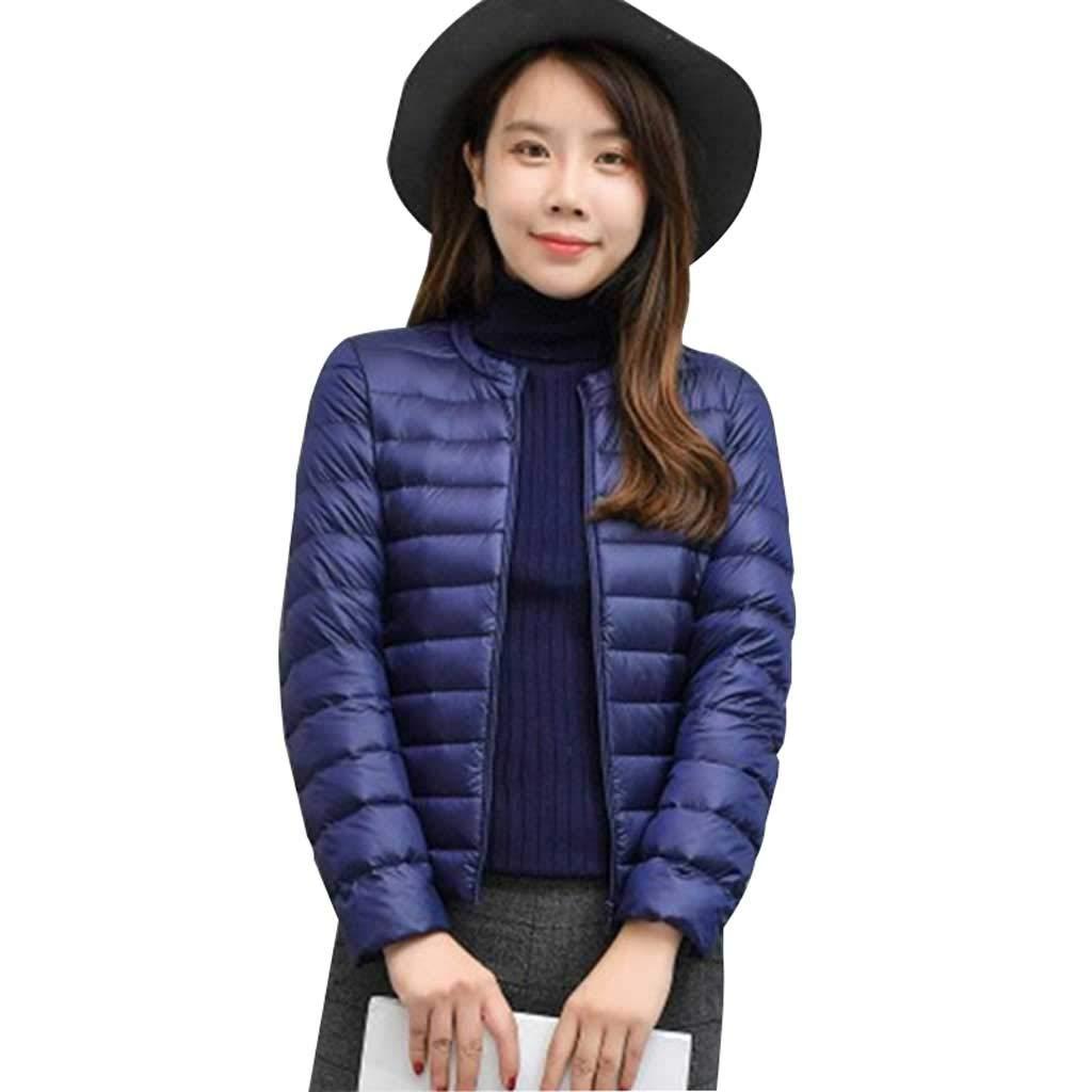 SXYTS Daunenjacke Winter Damen mit Kapuze dünner Abschnitt kurzer Absatz, dünne Jacke für Erwachsene