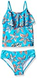 Kanu Surf Girls' Charlotte Flounce Tankini Beach Sport 2-Piece Swimsuit