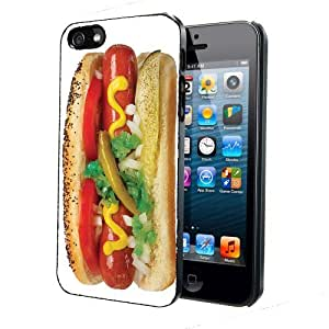 Hot Dog On A Bun iPhone 4 4s Back Case