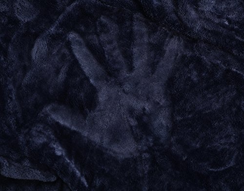 Find Dress Women's Extra Long Microfiber Fleece Bathrobe Robe Grey L