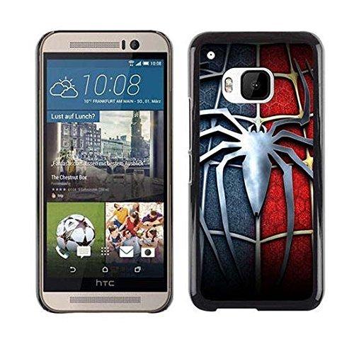 Customized Superhero Plastic Hard Case Spiderman Marvel Comics Hero Case Cover For Htc One M9