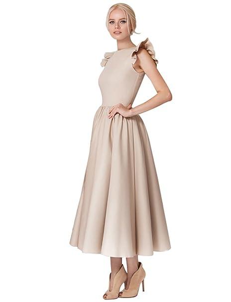 08d3b01a27 Baymate Mujer Elegante Vestido de Fiesta Largo Sin Mangas Vestido de Noche  Vestido de Coctel Vestidos