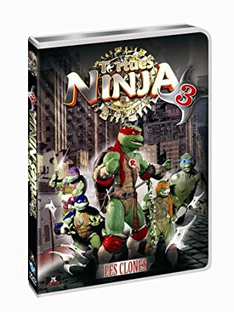 Tortues ninja vol.3 [Francia] [DVD]: Amazon.es: Cine y Series TV