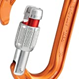 PETZL - Attache, Lightweight Screw-Lock Carabiner