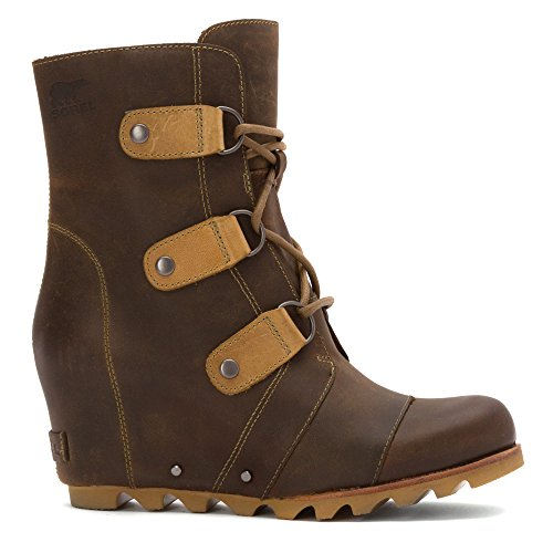 Joan 10 Arctic Sorel of Boot Mid Size Wedge Womens Wedge Cafe FB5U5vwxq
