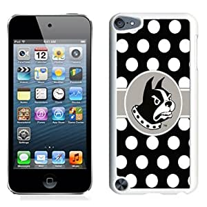 NCAA Southern Conference Football Wofford Terriers 01 Protective Cell Phone Hardshell Cover Case for Ipod 5th Generation White iPod touch 5 Case
