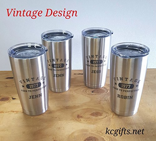 Set of 7 Personalized Polar Camel or YETI RAMBLER Insulated Mugs, Groomsmen Gifts, Best Man Gift, Groomsman Gift, Bridesmaids Gifts, Wedding Party Gifts - NO DECALS - FREE SHIPPING by Killorglin Creations (Image #2)