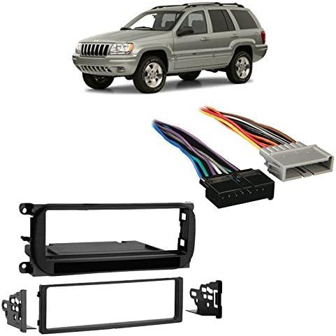 Metra 99-6505 Single Din Car Multi-Kit For Select 1998-2009 Chrysler Dodge Jeep