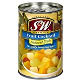 S&W Natural Style Premium Fruit Cocktail (Pack of 2) 15 oz Cans