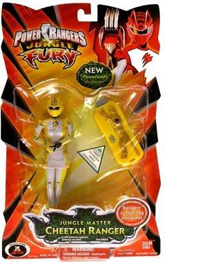 yellow cheetah jungle fury power ranger basic