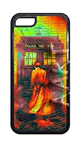 CSKFUHipster Custom { Doctor Who Case For iphone 6 4.7 inch iphone 6 4.7 inch Case Cover } Hard Shell Tardis Black Case - AArt (iphone 6 4.7 inch iphone 6 4.7 inch Manhattan Map Doctor who)