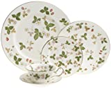 Wedgwood Wild Strawberry 5 Piece Place Setting