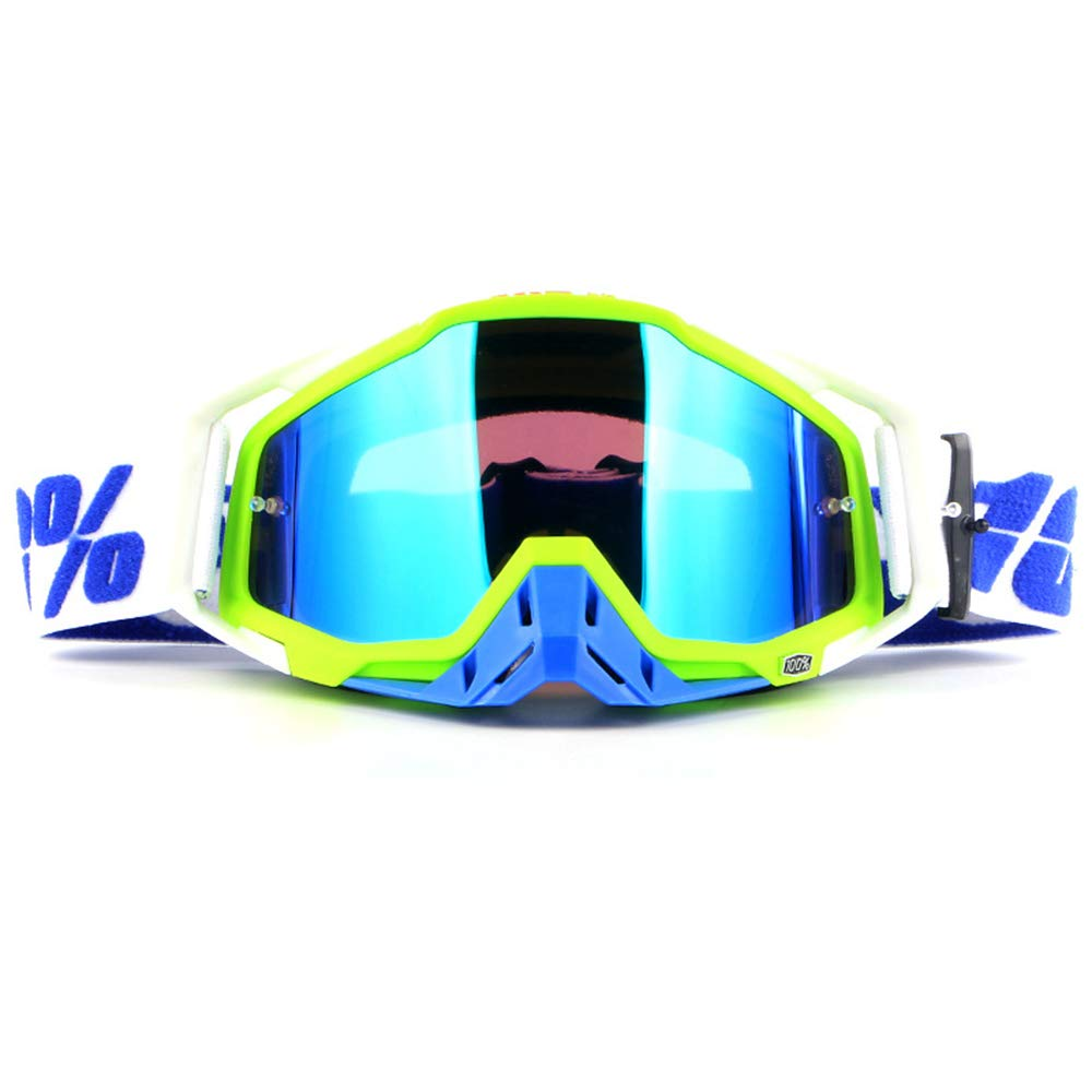 YOUJIADIAN Offroad-Brille Motorrad-Reitbrille Rennsport-Staubschutz-Reitbrille Nasenschutz einfacher Bewegungstrend