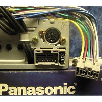 Astonishing Amazon Com Panasonic 16 Pin Stereo Plug Harness Panh 16A Panh16A Wiring Digital Resources Apanbouhousnl